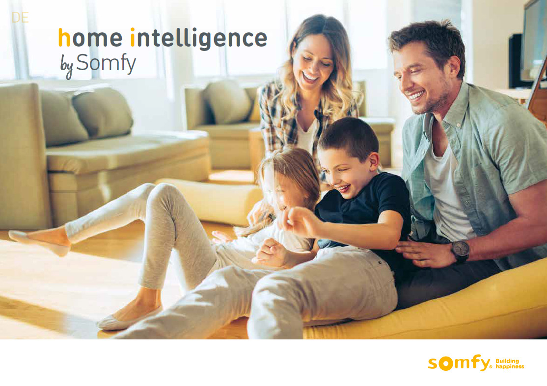 home intelligence by SOMFY