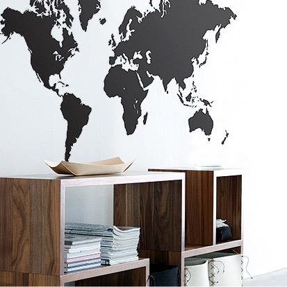 beliebter einrichtungstrend wandtattoos. Black Bedroom Furniture Sets. Home Design Ideas