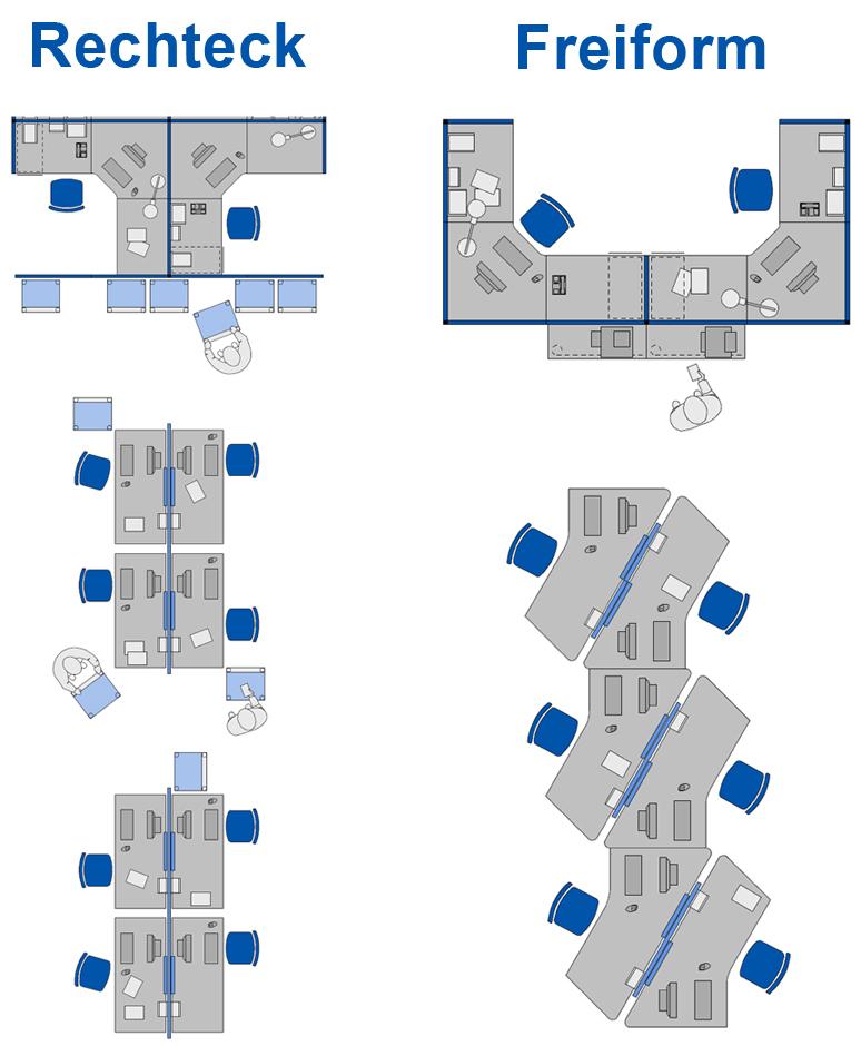 open space b rofl che die nur m bel trennen wohnnet. Black Bedroom Furniture Sets. Home Design Ideas