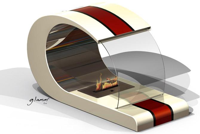 wohnzimmer ofen ethanol:wohnzimmer ofen ethanol : Bioethanol Kamin Piet im Retro Design