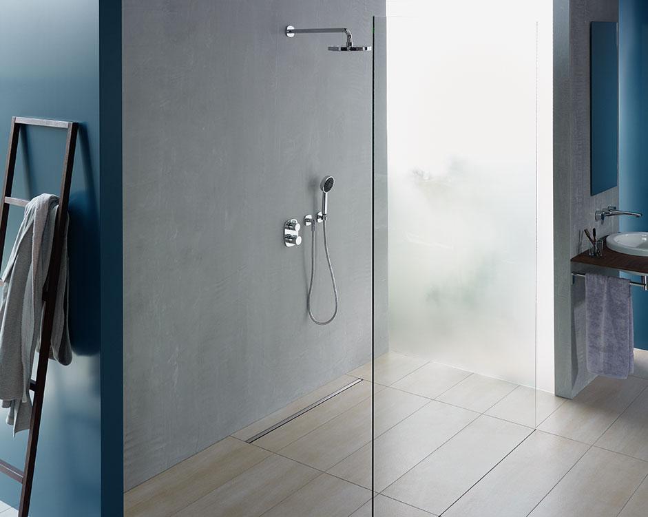 aco showerdrain x beim duschen geld energie sparen. Black Bedroom Furniture Sets. Home Design Ideas