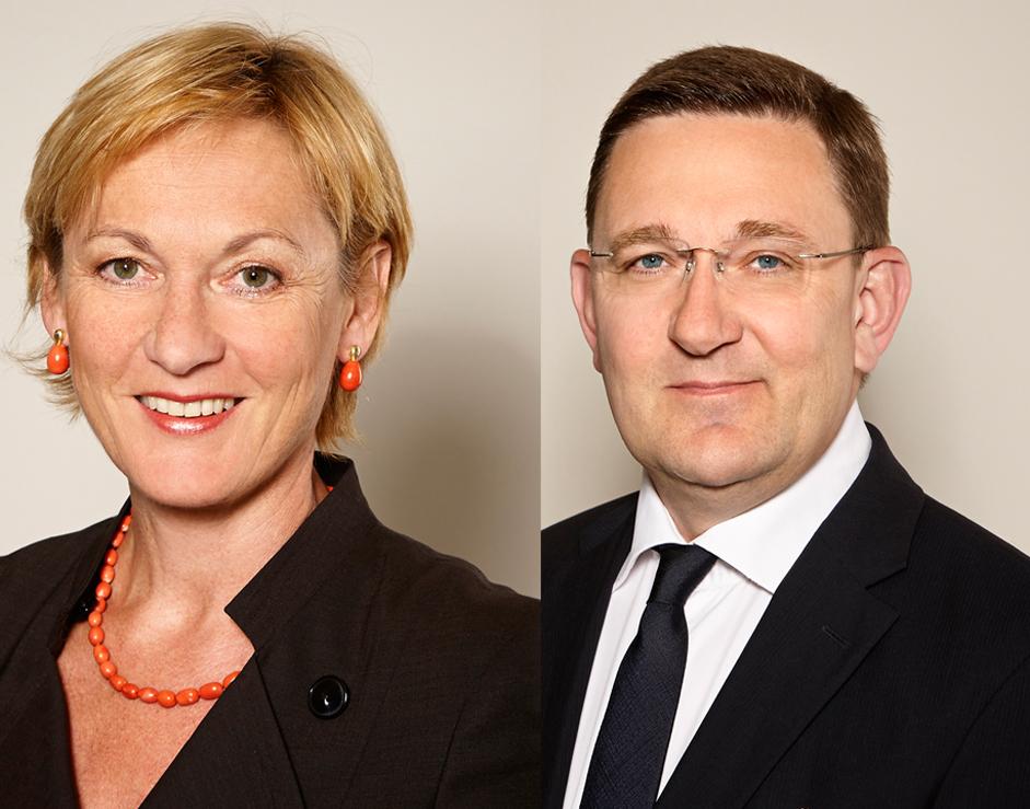 ... Immobilien AG Verstärkung an Bord: Emilie Janeba-Hirtl und Manfred Wiltschnigg. Der amtierende Aufsichtsratsvorsitzende Gregor Trummer wurde bestätigt. - Premium_AG_Karriere1