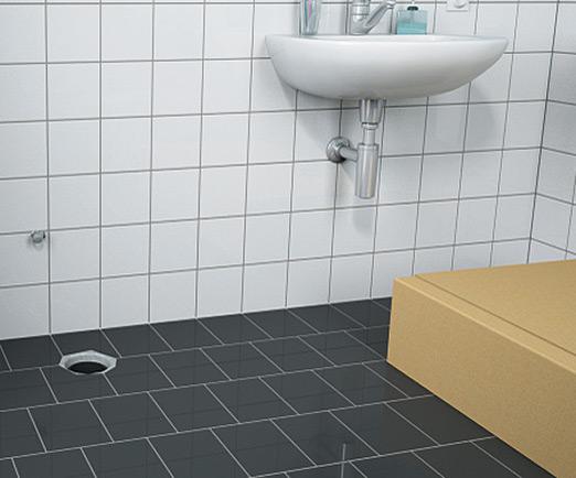 sanit rmodul f r stand wc 114cm monolith glas umbra. Black Bedroom Furniture Sets. Home Design Ideas
