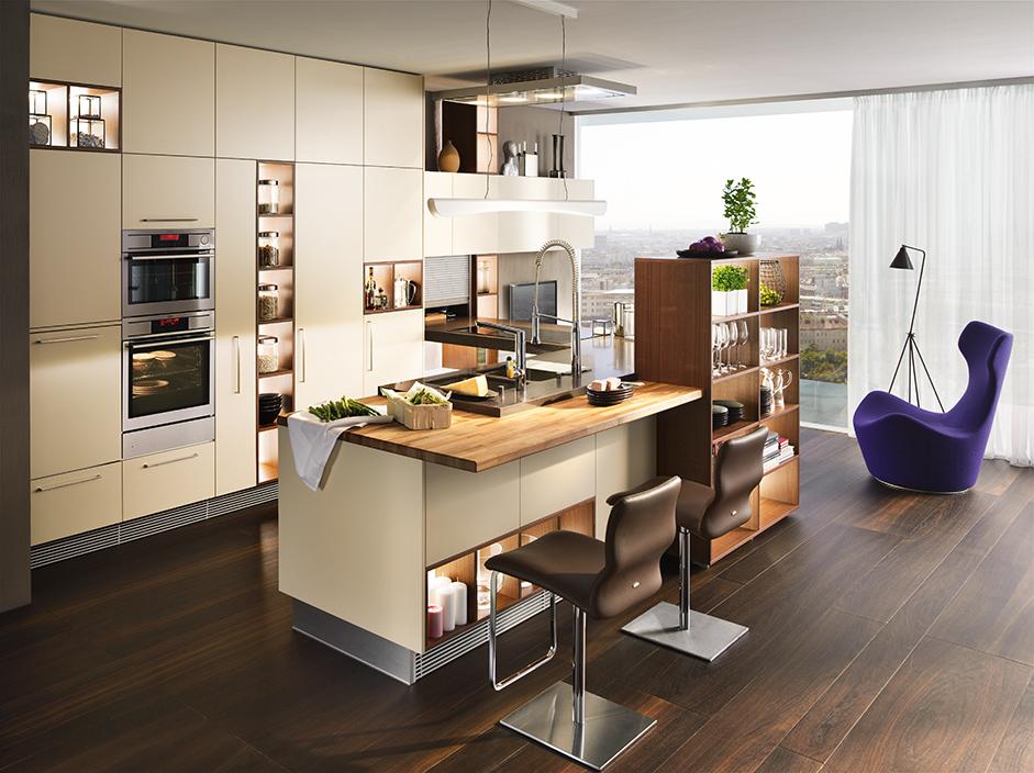 k che und kochen jedem koch die richtige k che. Black Bedroom Furniture Sets. Home Design Ideas