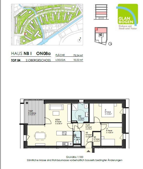 provisionsfreie 3-Zimmer-Wohnung mit großer Terrasse in Liefering, 5020 Salzburg - zur Miete
