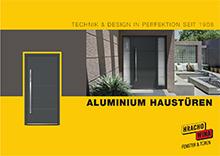 Aluminium Haustüren 2016