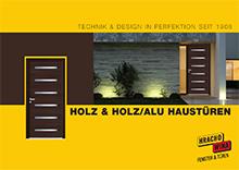 Holz-Alu Haustüren